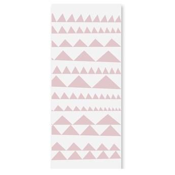 Tapeta dla dzieci różowe trójkąty, Humpty Dumpty