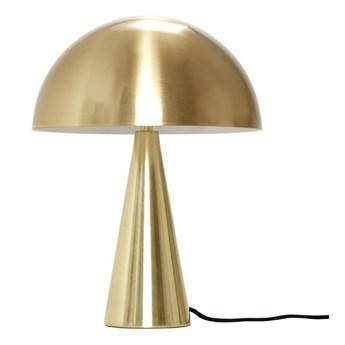Lampa stołowa z żelaza 33 cm, złoty, Hübsch