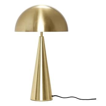 Lampa stołowa z żelaza 52 cm, złoty, Hübsch