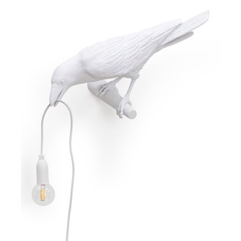Lampa ścienna Bird Looking Left indoor, biały, Seletti