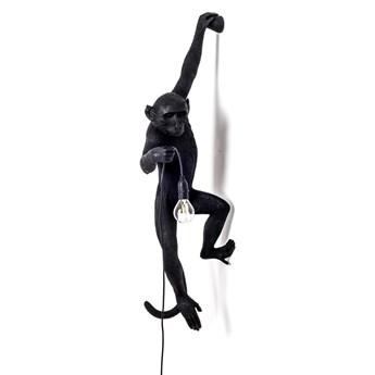 Lampa ścienna Monkey Hanging, czarny, Seletti