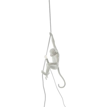 Lampa wisząca Monkey Ceiling zewnętrzna, biały, Seletti