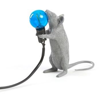 Lampa stołowa Mouse Step, szary, Seletti