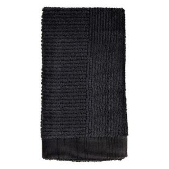 Ręcznik do rąk 50x100 cm Classic, czarny, Zone Denmark