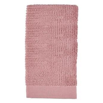 Ręcznik do rąk 50x100 cm Classic, różowy, Zone Denmark