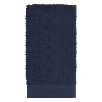 Ręcznik do rąk 50x100 cm Classic, ciemny niebieski, Zone Denmark