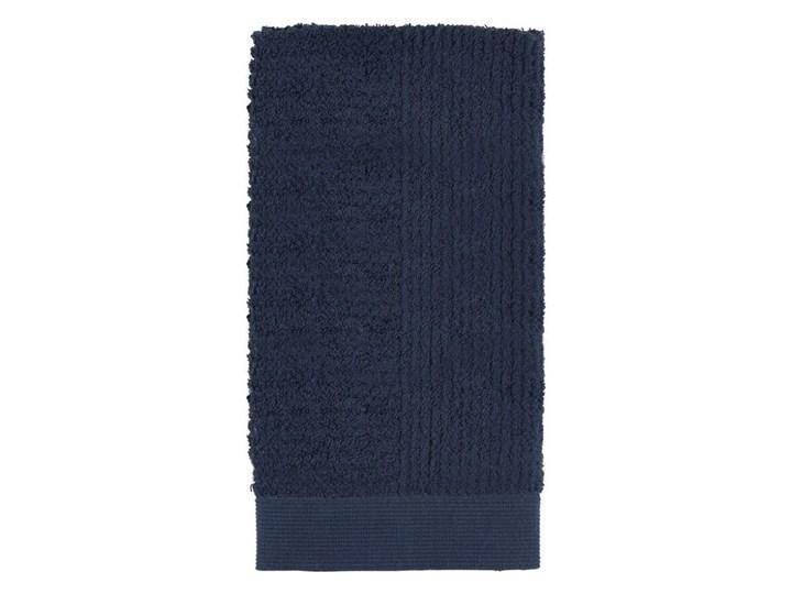 Ręcznik do rąk 50x100 cm Classic, ciemny niebieski, Zone Denmark Bawełna Kategoria Ręczniki Kolor Granatowy