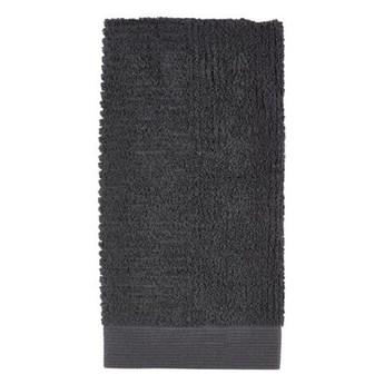 Ręcznik do rąk 50x100 cm Classic, antracytowy, Zone Denmark