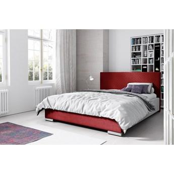 Łóżko tapicerowane CAMPO : Powierzchnia spania łóżka - 140x200cm, Wybierz tkaninę  - Riviera 61