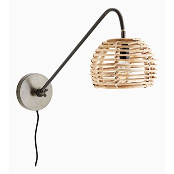 Kinkiet lampa ścienna Bambus