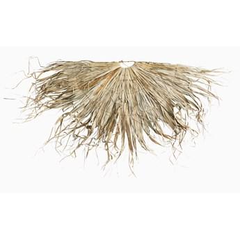Duża dekoracja ścienna z Liści Palmowych półokrąg