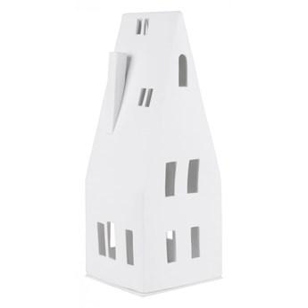 Duży lampion domek-skośny dach 30,5 cm