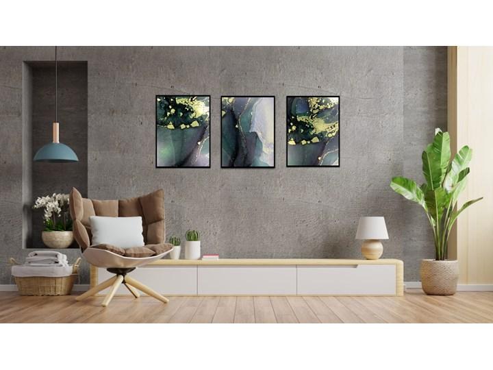 TRYPTYK PLAKAT GREEN 30X40 Wymiary 30x40 cm Kolor Zielony