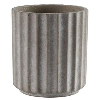 SELSEY Osłonka na doniczkęGerr cementowa 11,5 cm