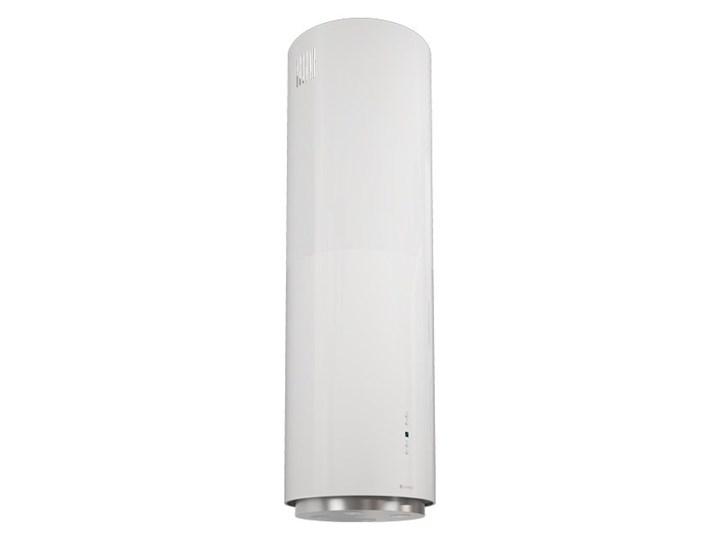 Okap kuchenny Asterio Isola 39.1 White Kolor Biały Okap przyścienny Okap wyspowy Poziom hałasu 62 dB