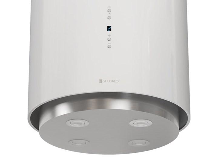 Okap kuchenny Asterio Isola 39.1 White Okap wyspowy Okap przyścienny Poziom hałasu 62 dB