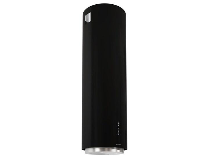 Okap kuchenny Asterio Isola 39.1 Black Okap wyspowy Poziom hałasu 70 dB Okap przyścienny Poziom hałasu 62 dB