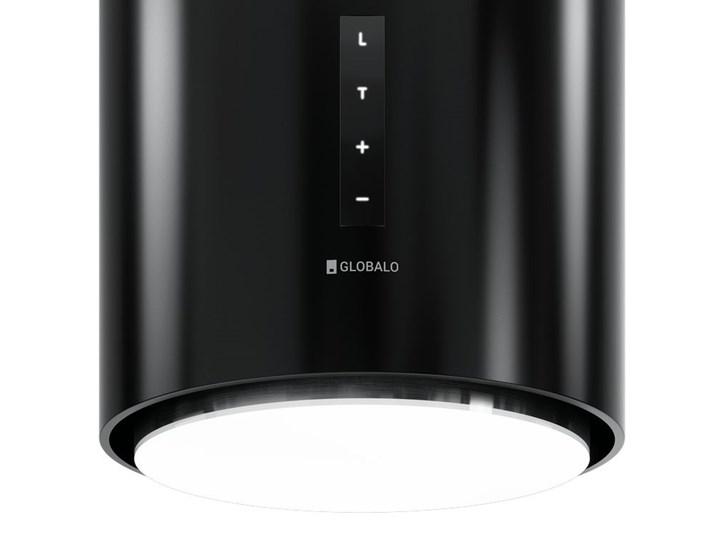 Okap kuchenny Heweno Isola 39.1 Black Okap wyspowy Okap przyścienny Poziom hałasu 62 dB