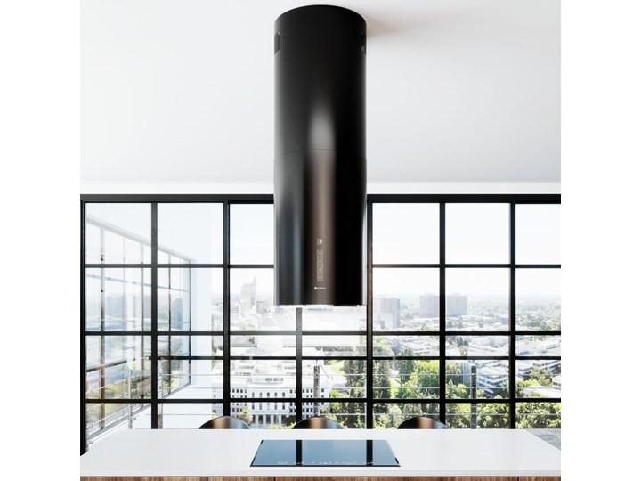 Okap kuchenny Heweno Isola 39.1 Black Okap przyścienny Sterowanie Elektroniczne Okap wyspowy Poziom hałasu 42 dB
