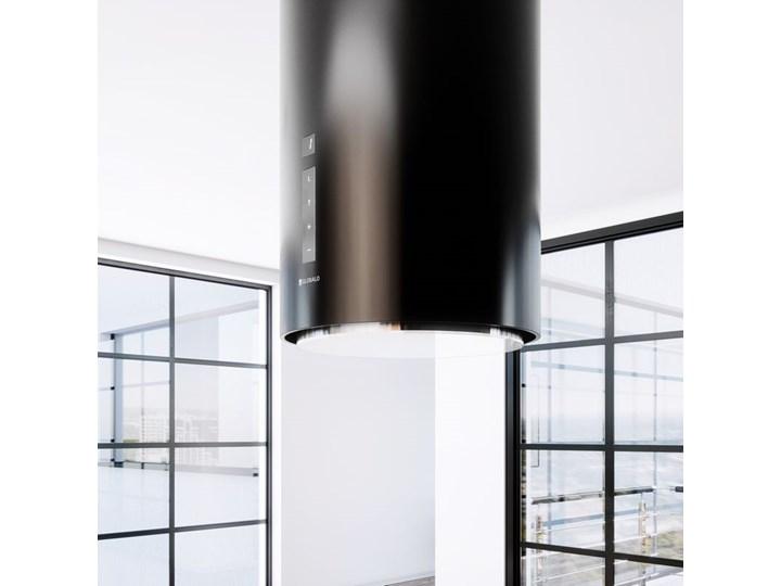 Okap kuchenny Heweno Isola 39.1 Black Kolor Czarny Okap przyścienny Okap wyspowy Poziom hałasu 69 dB