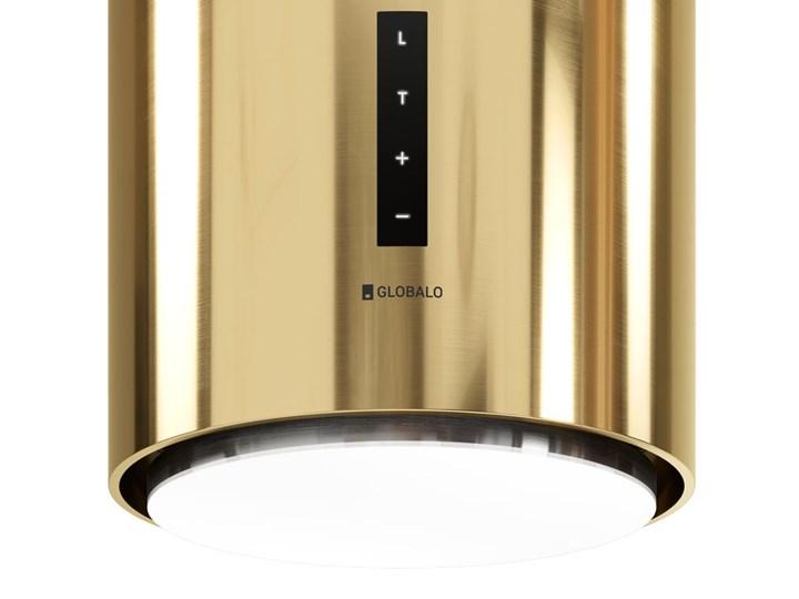 Okap kuchenny Heweno Isola 39.1 Light Gold Okap wyspowy Okap przyścienny Poziom hałasu 69 dB
