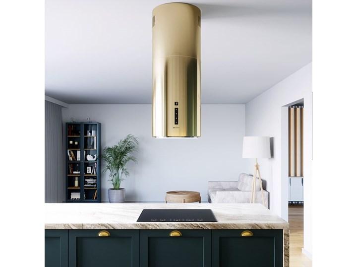 Okap kuchenny Heweno Isola 39.1 Light Gold Okap wyspowy Poziom hałasu 62 dB Okap przyścienny Poziom hałasu 69 dB