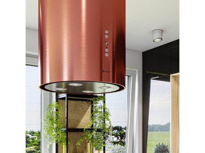 Okap kuchenny Asterio Isola 39.1 Rose Okap przyścienny Poziom hałasu 62 dB Okap wyspowy Poziom hałasu 43 dB