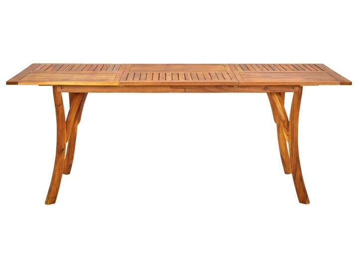 vidaXL 7-częściowy zestaw mebli ogrodowych, brązowy Stal Stoły z krzesłami Rattan Zawartość zestawu Krzesła