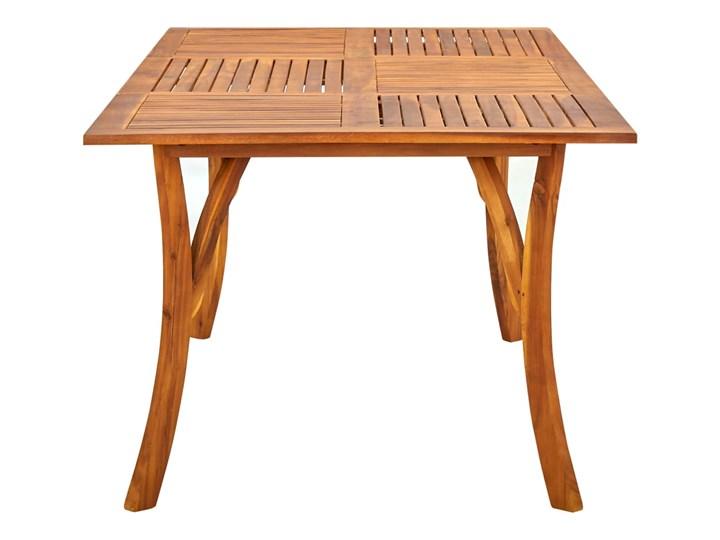 vidaXL 7-częściowy zestaw mebli ogrodowych, brązowy Stoły z krzesłami Stal Rattan Zawartość zestawu Stół