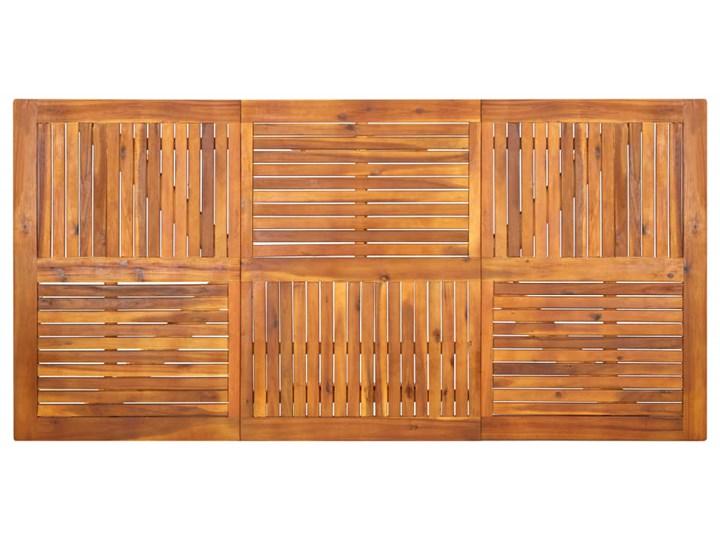 vidaXL 7-częściowy zestaw mebli ogrodowych, brązowy Rattan Zawartość zestawu Stół Stoły z krzesłami Stal Zawartość zestawu Krzesła