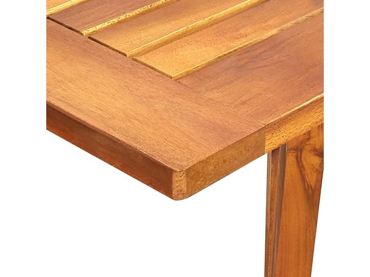 vidaXL 7-częściowy zestaw mebli ogrodowych, brązowy Rattan Stal Stoły z krzesłami Zawartość zestawu Krzesła