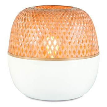 Bambusowa lampa stołowa Mekong, 25x29 cm naturalny, Good and Mojo