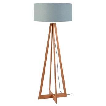 Lampa podłogowa Everest, bambus abażur jasnoszary, Good and Mojo