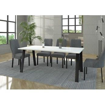 Stół Loftowy KLEO : Wybierz kolor - biały, Wybierz rozmiar: - 185cm x 90cm