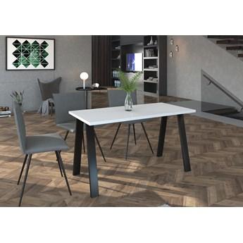 Stół Loftowy KLEO : Wybierz kolor - biały, Wybierz rozmiar: - 138cm x 67cm