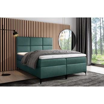 łóżko kontynentalne FAVA : Powierzchnia spania łóżka - 160x200cm, Wybierz tkaninę  - Fancy 36