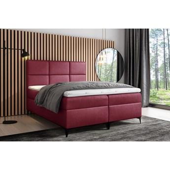 łóżko kontynentalne FAVA : Powierzchnia spania łóżka - 180x200cm, Wybierz tkaninę  - Fancy 59