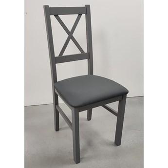 Krzesło NILO 10 grafit 16x WYPRZEDAŻ MAGAZYNOWA