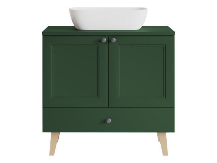 Szafka pod umywalkę VENEZIA VN03 artisan / zielony mat Płyta MDF Kategoria Szafki stojące