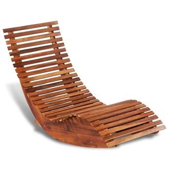 Bujany leżak, drewno akacjowe