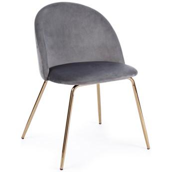 Krzesło Tanya 44x86 cm antracytowe