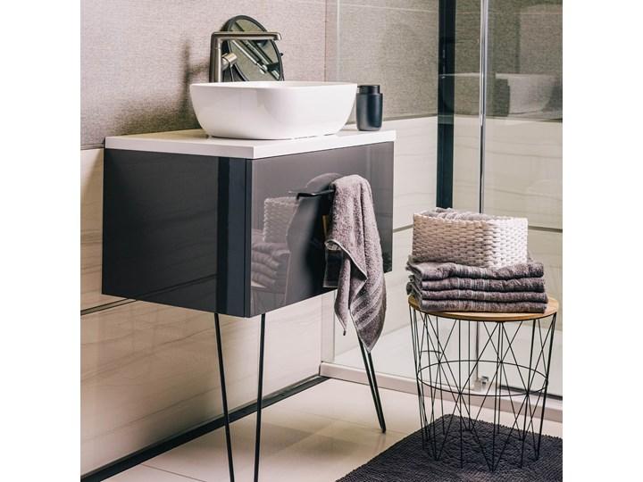 JON Dywanik łazienkowy szary 50x80 cm Kategoria Dywaniki łazienkowe