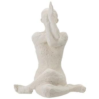 Figurka dekoracyjna Adalina, biała, Bloomingville