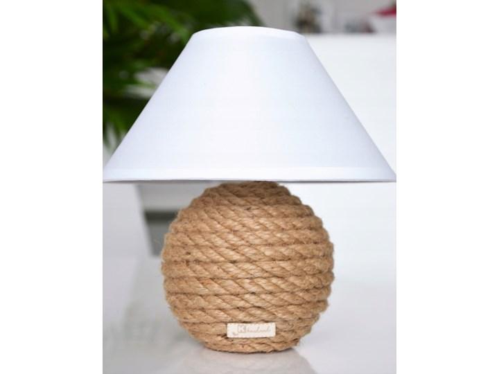 MINI Lampka stołowa Boho biała miniB10 Lampa z abażurem Lampa z kloszem Ceramika Pomieszczenie Salon