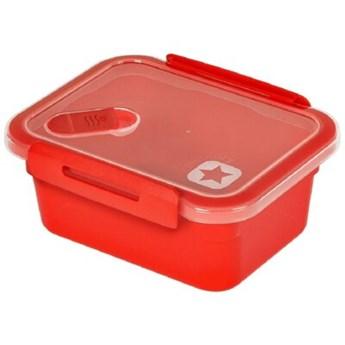 Pojemnik plastikowy ROTHO Memory 1128202792 0.6 L Pomarańczowy