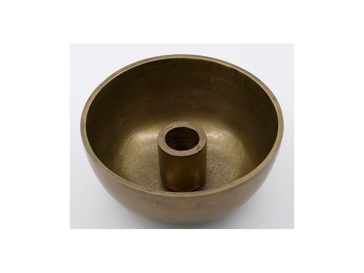 House Doctor - Świecznik Crown Antique Brass Aluminium Metal Świeca Kategoria Świeczniki i świece