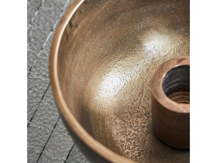 House Doctor - Świecznik Crown Antique Brass Świeca Metal Aluminium Kategoria Świeczniki i świece