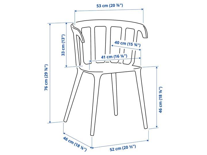 IKEA IKEA PS 2012 / IKEA PS 2012 Stół i 2 krzesła, bambus/czarny, 74 cm Kategoria Stoły z krzesłami