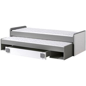 GM16 Łóżko piętrowe z pojemnikiem COMI popiel + biały