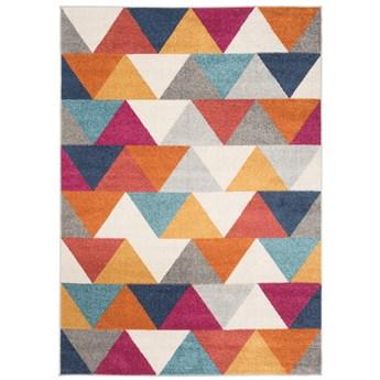 Dywan Nowoczesny Geometryczny Kolorowy Lazur 57967 300 x 400 cm